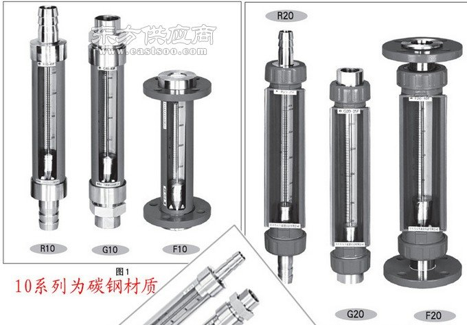 F30-25腐蚀性玻璃管转子流量计图片