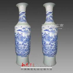颜色釉陶瓷大花瓶图片