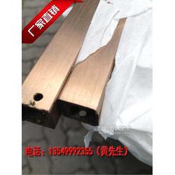 304玫瑰金不锈钢矩形管50x30x2.5 不锈钢矩形管厂家图片