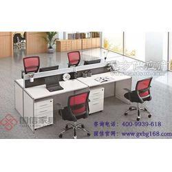 办公家具 移动式办公屏风 隔断式办公桌 国信家具图片