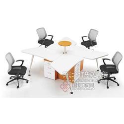 办公家具 国信现代简约办公屏风 隔断式办公桌图片