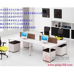 时尚办公家具 公司办公桌 隔断式办公桌 国信图片