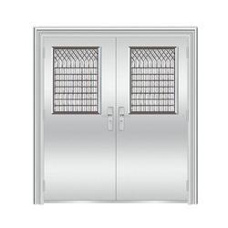 【不锈钢门】,豪华不锈钢门,青岛星泰智能门业图片