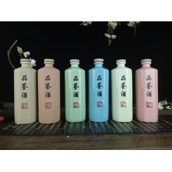 磨砂纯粮原浆酒瓶 1斤2斤陶瓷酒瓶 密封泡酒瓶酒坛定做厂家图片