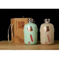 3斤5斤10斤装雕刻双龙酒瓶 装酒密封陶瓷酒坛厂家定制图片