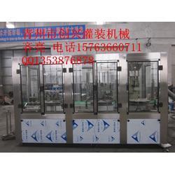 (灌装机)金枣酒灌装机-创兴机械定量果酒灌装机图片