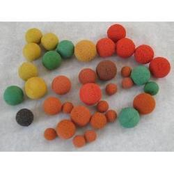 嘉興膠球-膠球效果-昊元凈水硅膠球(優質商家)圖片