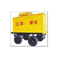 星光-可移动拖车三轮/四轮移动发电机组图片