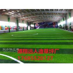 五人制足球场塑料草皮厂家图片