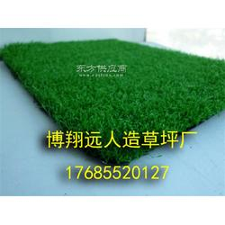 五人制足球场人造草坪施工图片