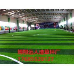 小型足球场人造草坪地毯哪家好图片