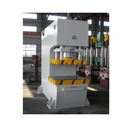 单柱校直液压机-郑州金熙-单柱液压机图片