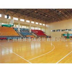 穗体供应专业室内篮球馆木地板图片