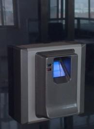 防复制电梯刷卡控制系统指纹刷卡