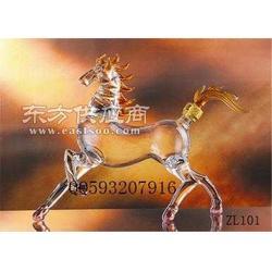 供应高硼硅玻璃工艺酒瓶图片