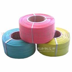 厂家供多种颜色PP打包带 PP红色打包带 PP绿色打包带图片