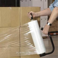 低价倾销PE包装膜 乳白色缠绕膜 纸箱捆扎膜图片