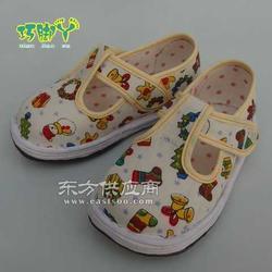 儿童春秋季手工纳底单鞋女孩童鞋图片