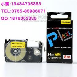 普贴国产XR-12X1 卡西欧色带12MM透明底黑字 KL-820色带图片