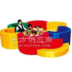 供应MX-20503莲花形海洋球池-名欣游乐儿童大型玩具图片