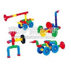 MX-20012喇叭车积木-幼儿园桌面玩具-名欣图片