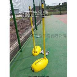 供应浩海体育移动式ABS羽毛球柱F006图片