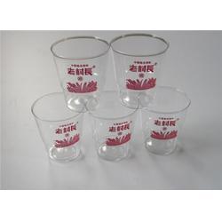 济南水晶广告杯制作、水晶广告杯、鸿泽塑业(查看)图片