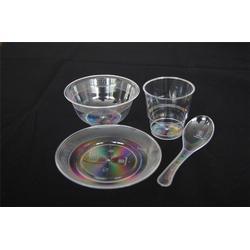 一次性水晶餐具4件套,一次性水晶餐具,鸿泽塑业图片