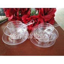 一次性水晶餐具,一次性水晶餐具市场,鸿泽塑业(优质商家)图片