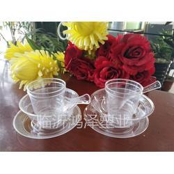 一次水晶餐具碗 鸿泽塑业水晶餐具