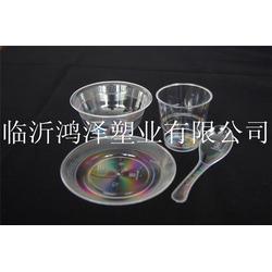 鸿泽塑业 一次性餐具水晶-水晶餐具图片