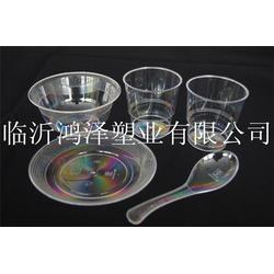水晶餐具,鸿泽塑业,一次性水晶餐具5件套图片