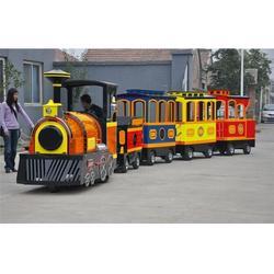 强力游乐(图)、无轨道观光火车哪里好、无轨道观光火车图片