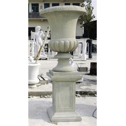 石材花盆制作厂家,石材花盆,曲阳县宏兴石材雕塑图片