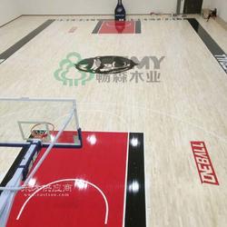 专业的篮球联赛场体育木地板保养注意图片
