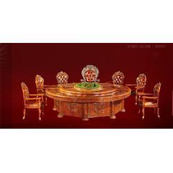 古钒酒店餐桌多少钱、酒店餐桌厂家、宁国市酒店餐桌图片
