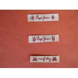 鸿兴厂家直销衣服布标、【衣服布标签生产厂商】、嘉兴衣服布标签图片