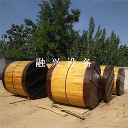 江西储罐_融兴白钢酒灌子木罐_15吨食用油储罐图片