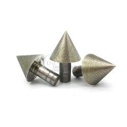 高品质60度锥形倒角器 伞形金刚石磨头订做 硬质合金玻璃陶瓷石材扩孔图片
