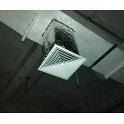 地下室中央空调通风管道安装|易天龙腾|中央空调通风管道图片