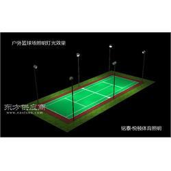 户外网球场照明用什么灯比较好,网球场馆防眩灯图片