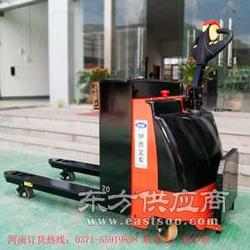 电动叉车厂家销售踏板式电动搬运车图片