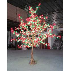 供应3米高枫叶树灯图片