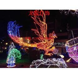 专业生产LED金鸡起舞灯灯光节灯 圣母造型灯鸽子造型灯图片