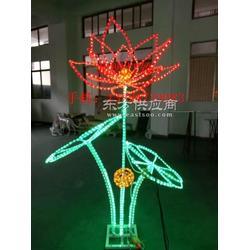 LED发光荷花灯多色可选款式新颖高品质出品图片