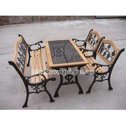 纯铸铁公园长椅 户外休闲椅图片
