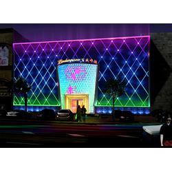 楼体亮化设计,西安焦点照明,青海楼体亮化图片