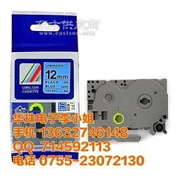 配电柜标识 兄弟TZe-531覆膜标签色带 PT-2730标签机用TZ2-531国产图片