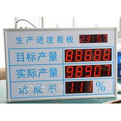 供应服装厂车间电子看板,LED电子看板图片