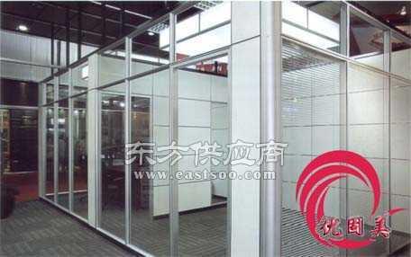 玻璃隔断办公室隔断隔墙厂家安装图片 (456x286)-办公室玻璃间隔墙